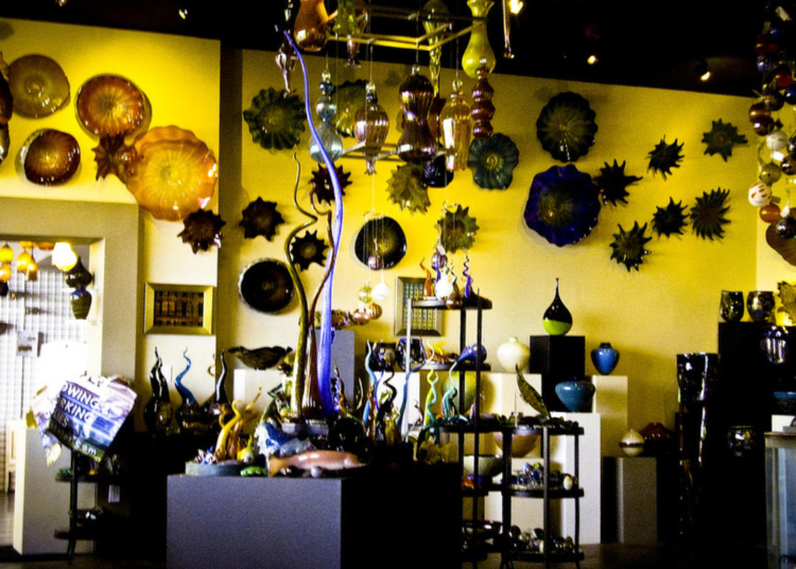 """Seattle Glassblowing Studio"" by Jennifer via Flickr Creative Commons"