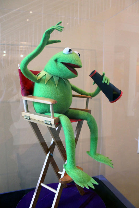 """Kermit the Frog"" by  Ayleen Gaspar via Flickr Creative Commons"