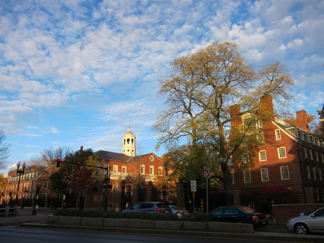 """Harvard Yard"" by Eugene Kim via Flickr Creative Commons"