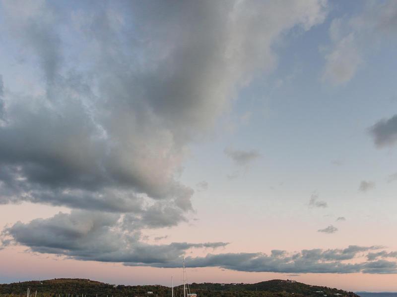 Insta   sunset cloud tower