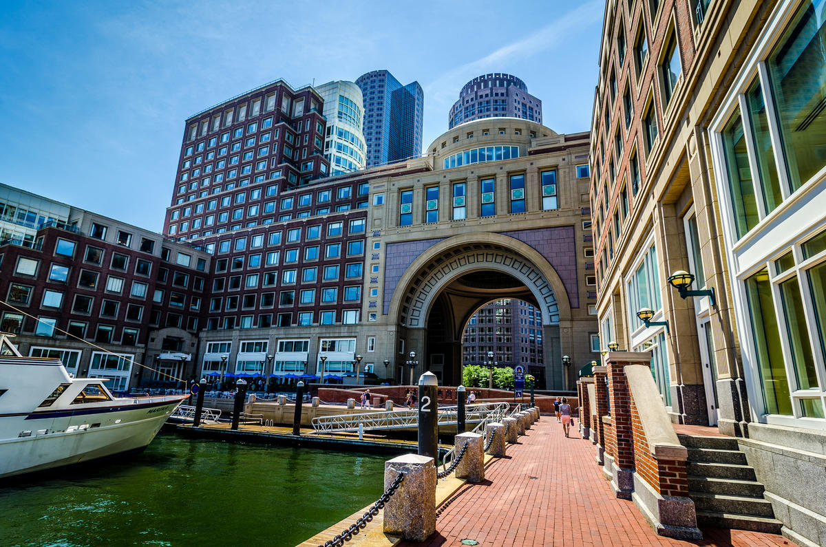 """Boston Harbor Hotel"" by Nicholas Erwin via Flickr Creative Commons"