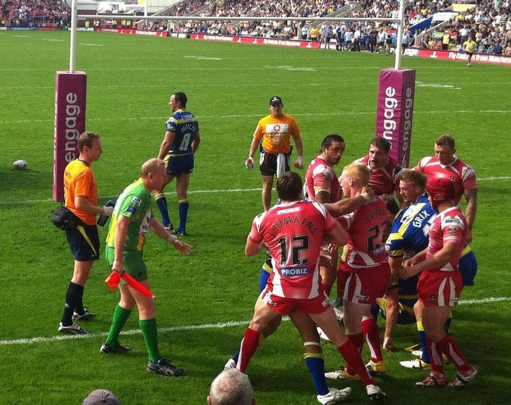 """Warrington Vs. Wigan Scrap"" by Rob Lawton on Flickr Creative Commons"