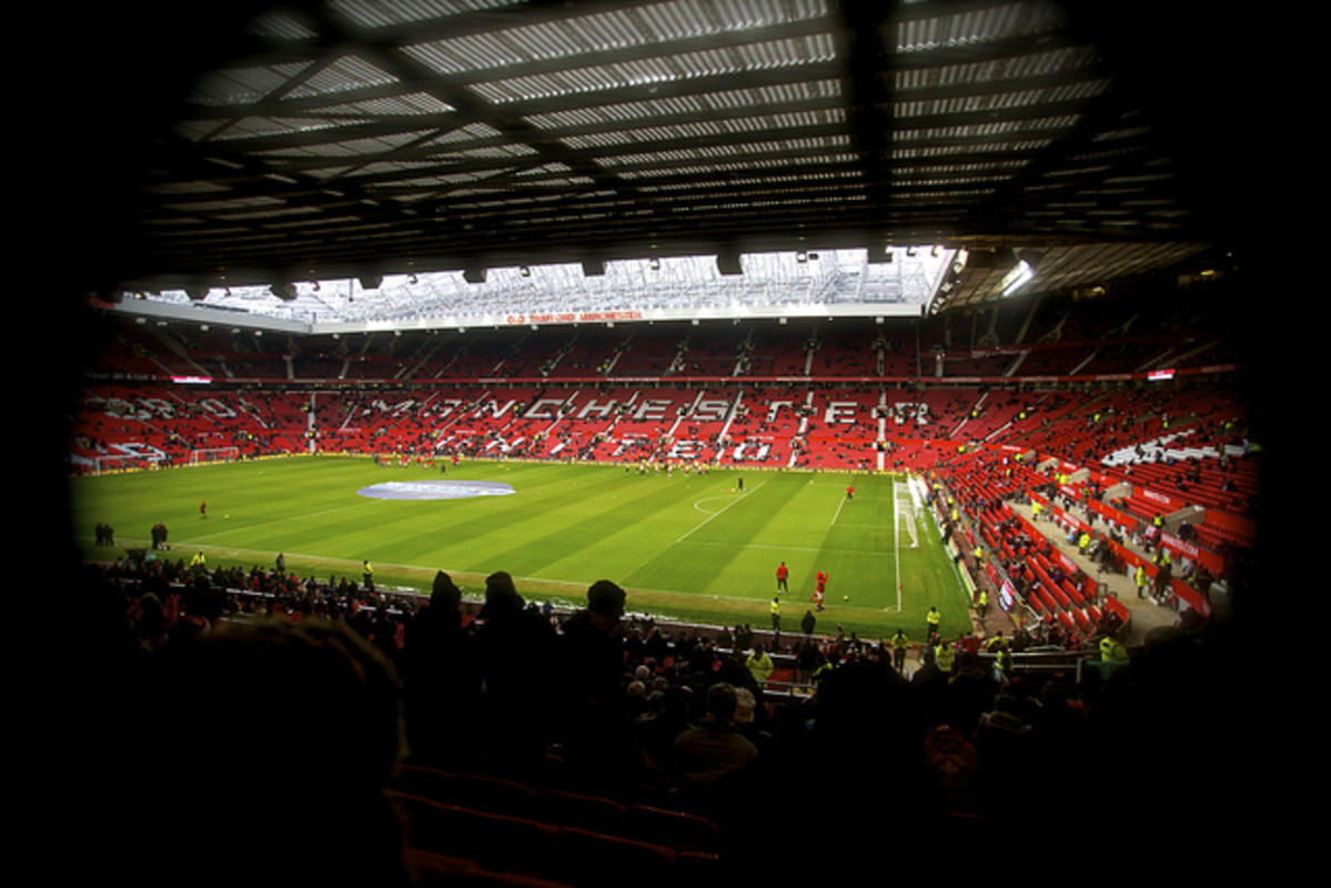 Old Trafford Manchester United by Paul on Flickr