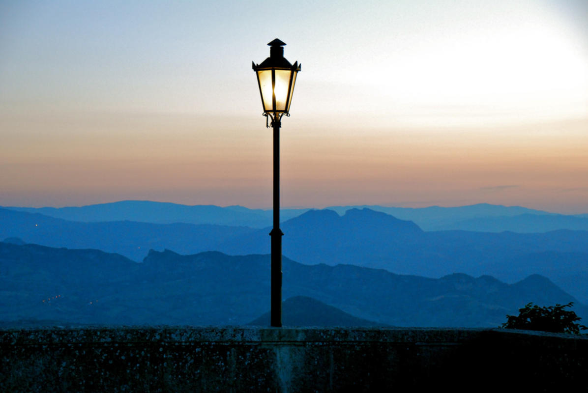 View and sunset from San Marino by Hilde Kari via Flickr Creative Commons