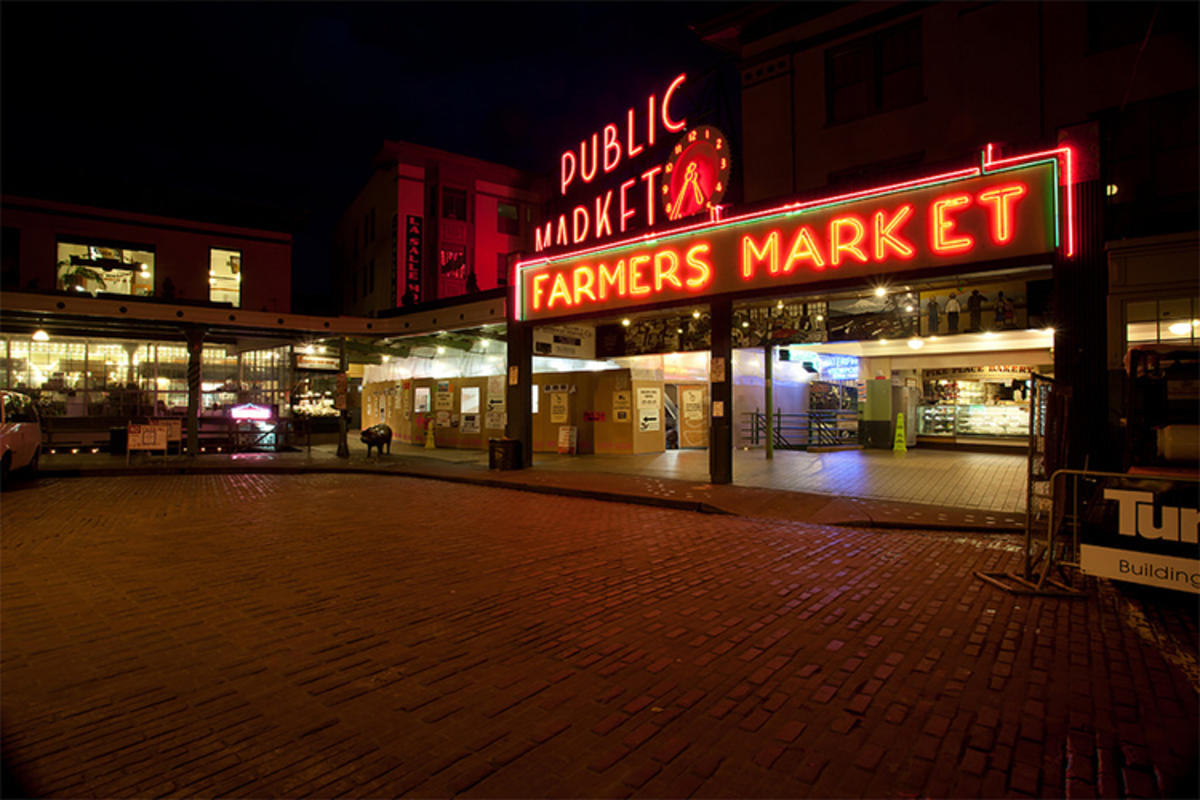 """Pike Place Market"" by Michael Noirot via Flickr Creative Commons"