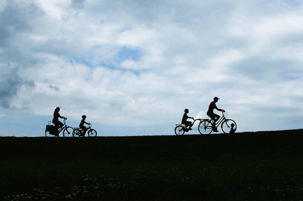 """Family on Bike"" by Senor Hans via Flickr Creative Commons"