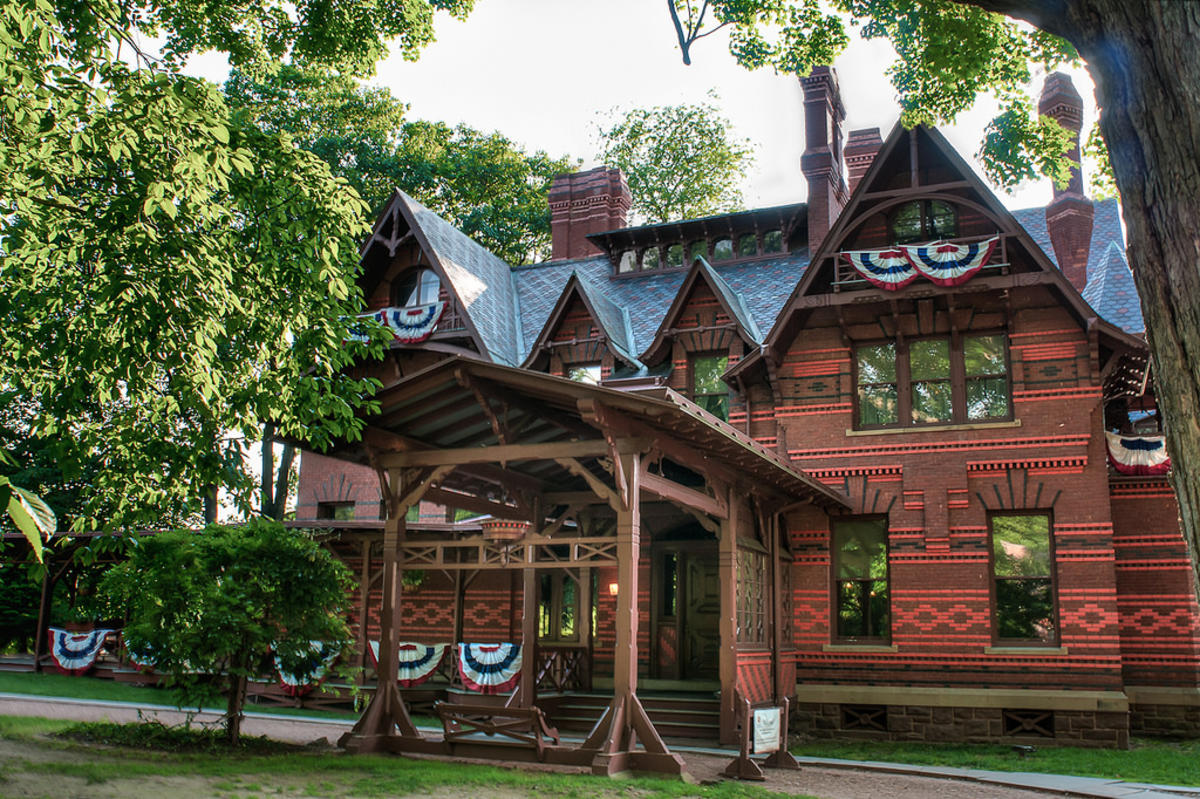 """Mark Twain's House"" by Michelle Lee via Flickr Creative Commons"