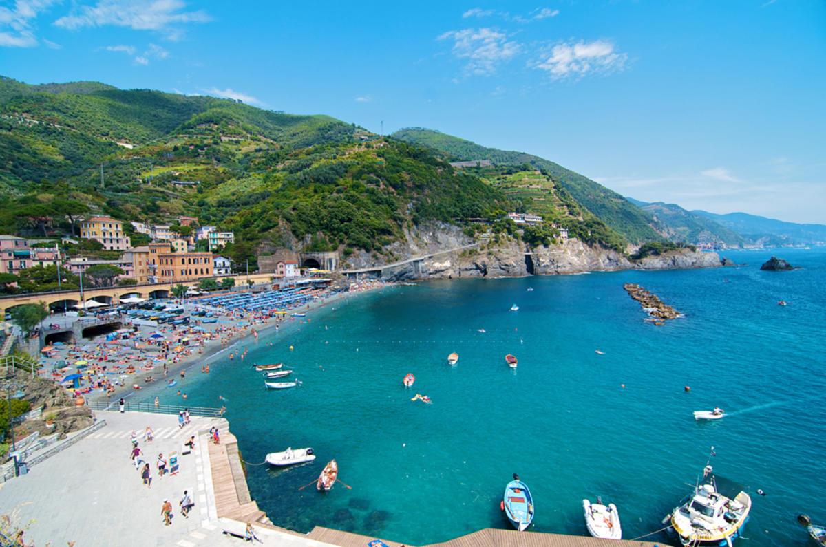 """""""Monterosso al Mare"""" by David Kosmos Smith via Flickr Creative Commons"""
