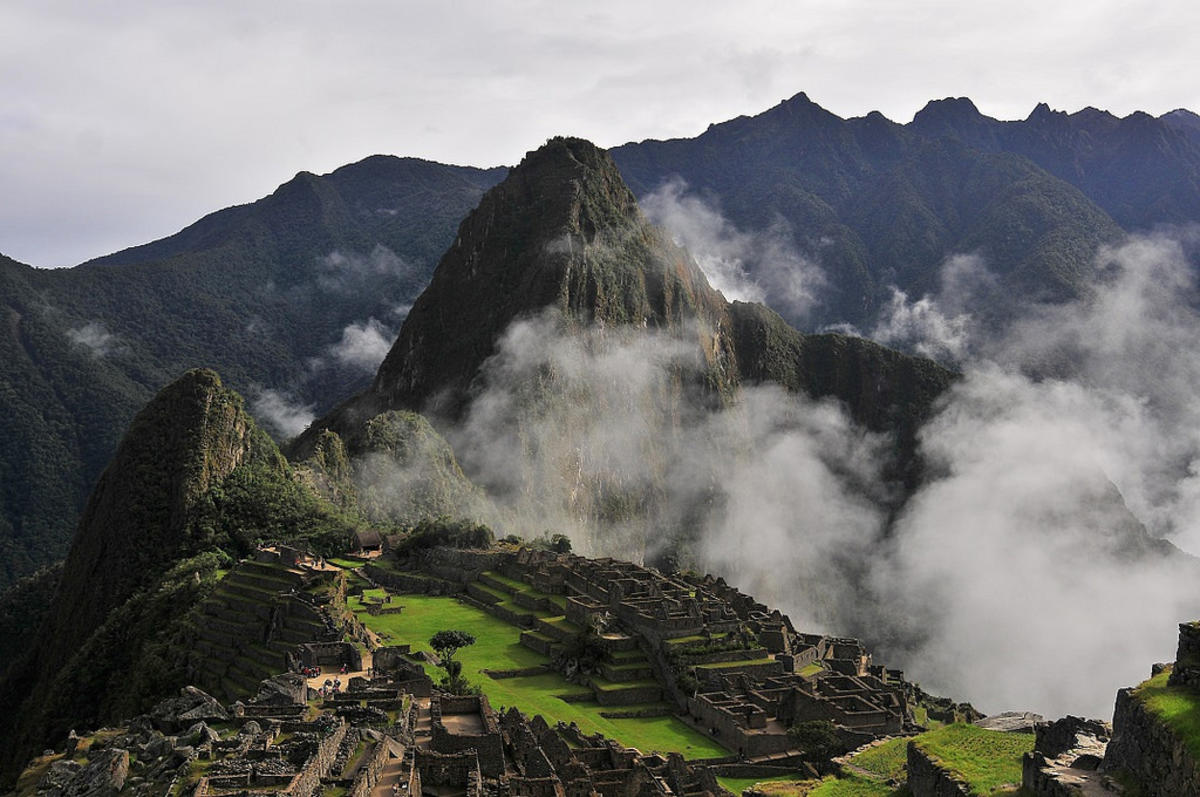 """Cloudy Machu Picchu"" by Thibault Houspic via Flickr Creative Commons"