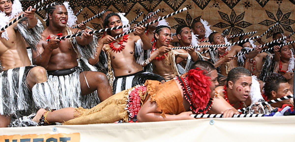 ASB Polyfest 2008 Wesley College Tonga Group by Richard Sihamau via Flickr Creative Commons