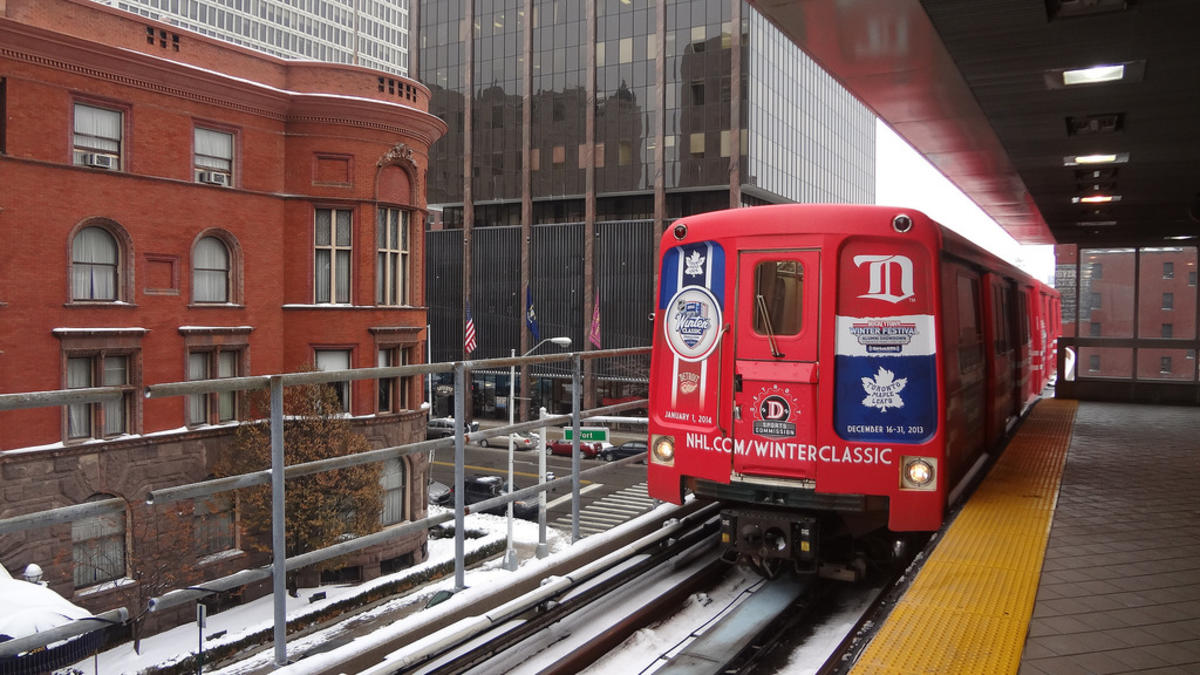 """Detroit People Mover"" by VasenkaPhotography via Flickr Creative Commons"