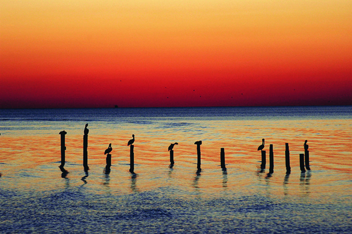 """""""Coast Sunset"""" by Visit Mississippi via Flickr Creative Commons"""
