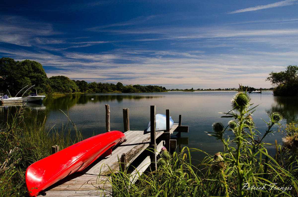 Kayaks in Rhode Island by Patrick Franzis via Flickr Creative Commons