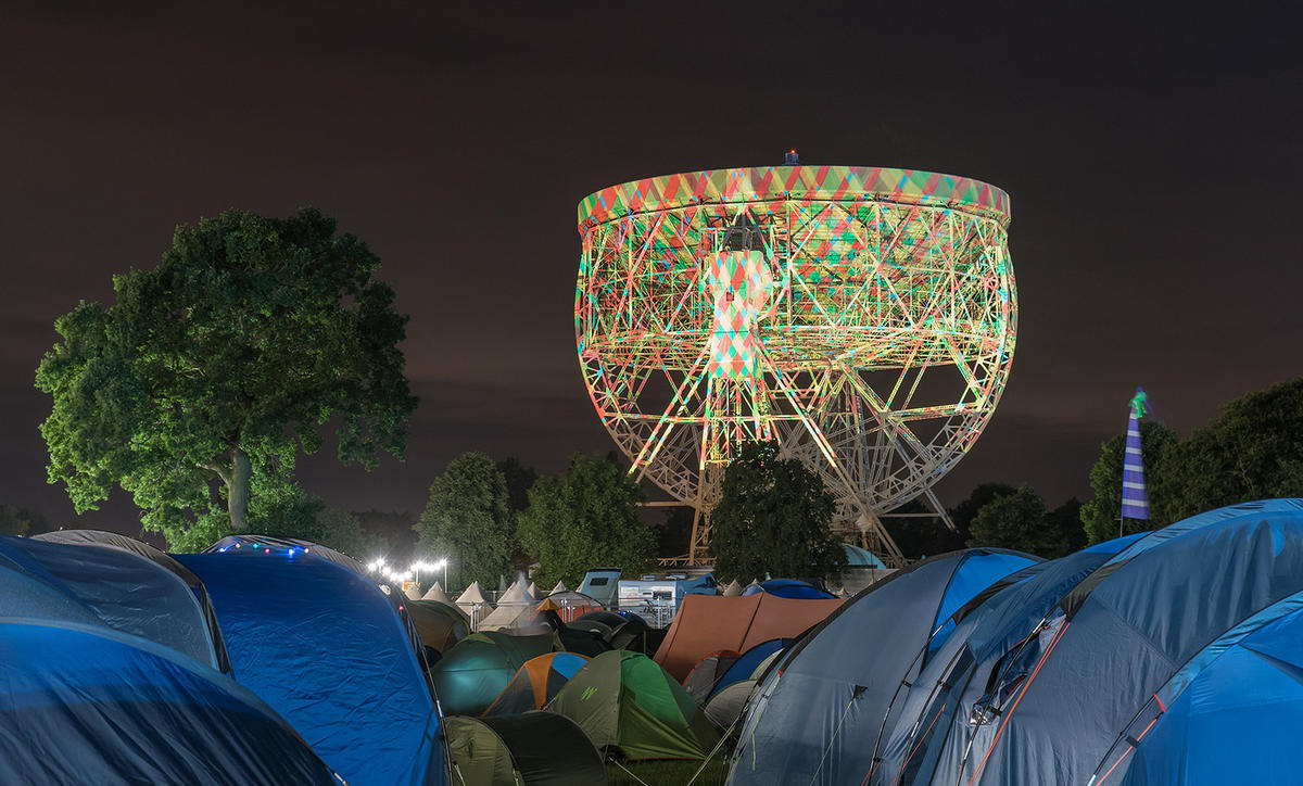 'Bluedot Festival' by Kris Williams via Flickr Creative Commons