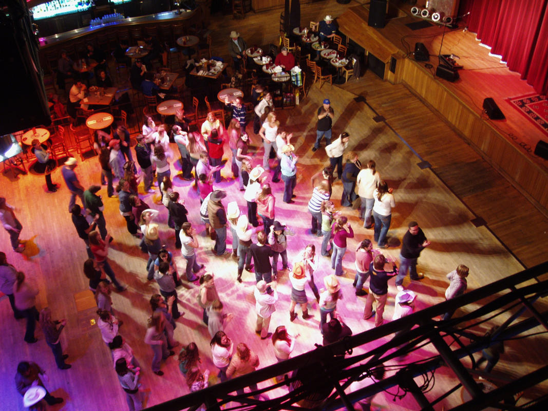 """Line Dance Time"" by Richard Roche via Flickr Creative Commons"