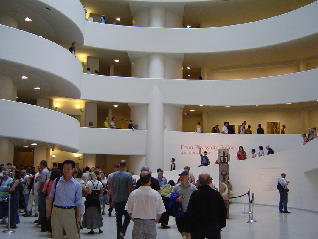 """The Hall (Salomon R. Guggenheim Museum - New York)"" by Sergio Calleja via Flickr Creative Commons"