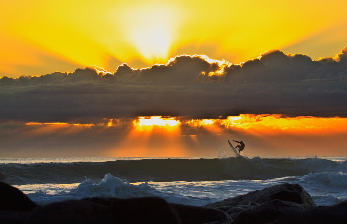 Sunrise Surfing_09092009 (7) by Michael Dawes via Flickr Creative Commons