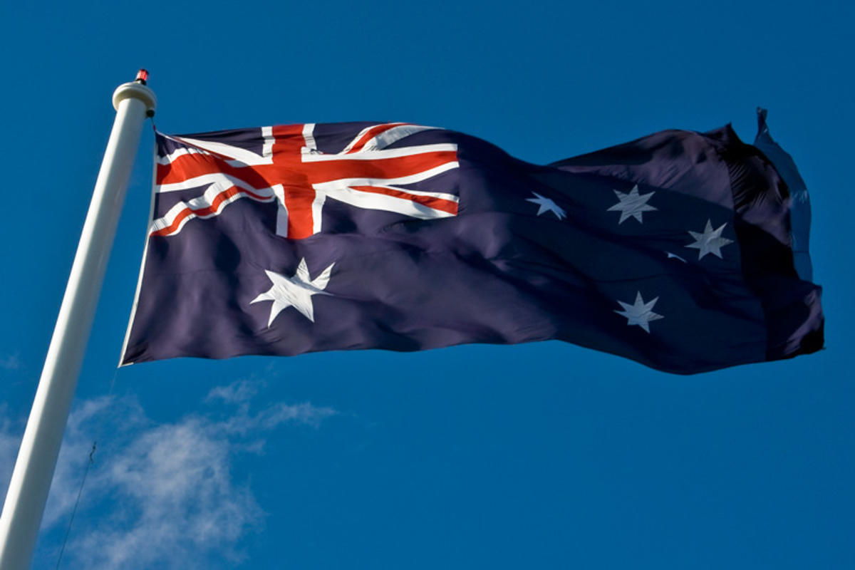 Aussie Flag Flying by Ben Christian via Flickr Creative Commons