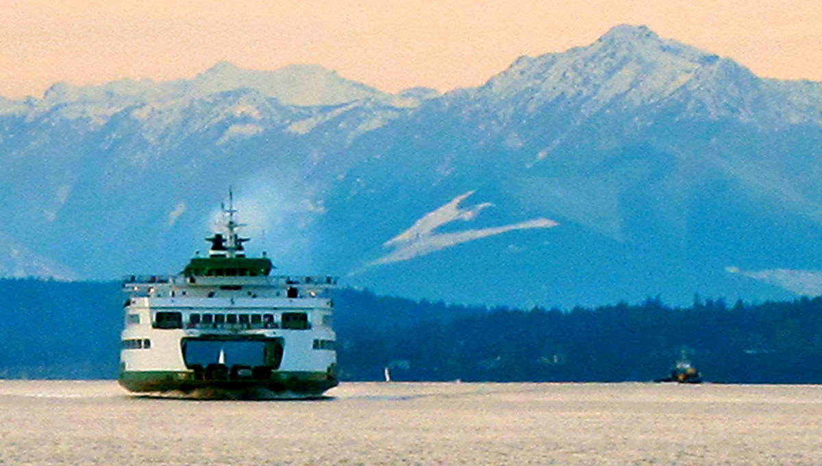 """Washington State Ferry"" by Curtis Cronn via Flickr Creative Commons"