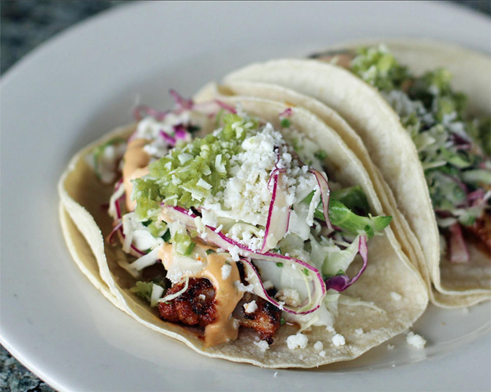 """""""Fish Tacos aren't always meant for Tuesday"""" by Salty's via Facebook"""
