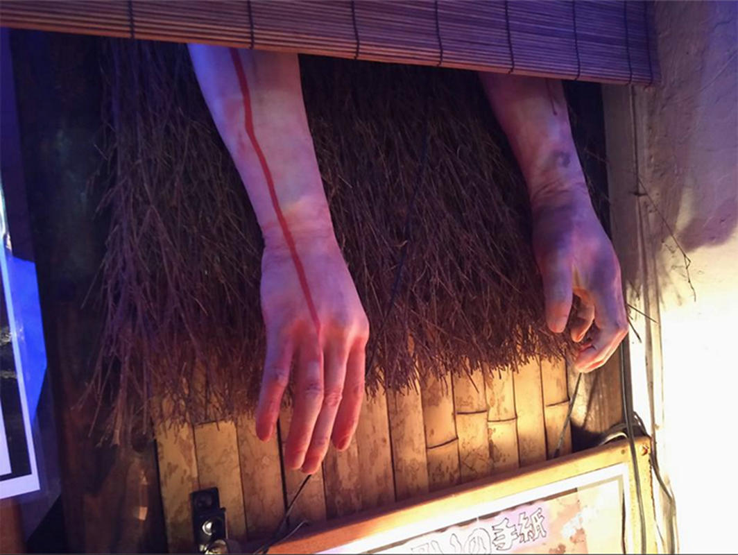 """Visiting Yurei izakaya, the Ghost Bar in Japan at Kichijōji"" by Inuki Cosplay via Facebook"