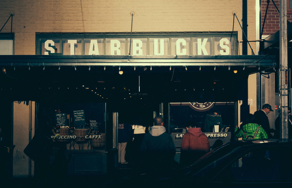 """First Starbucks"" by David Nitzsche via Flickr Creative Commons"