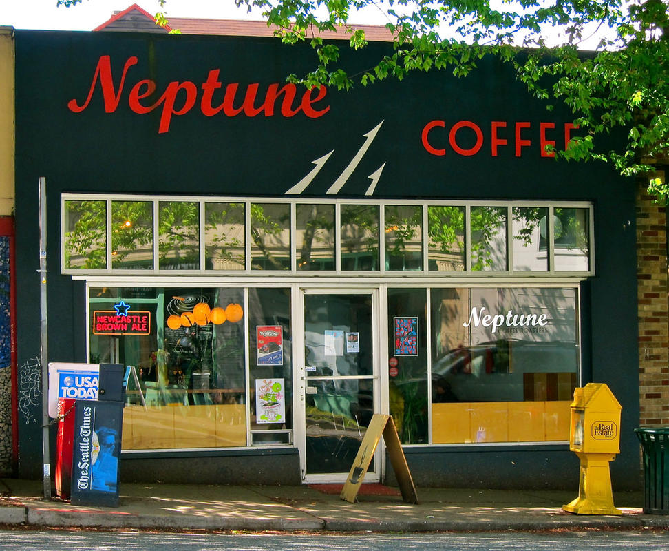 """""""Neptune Coffee, Greenwood, Seattle"""" by Curtis Cronn via Flickr Creative Commons"""