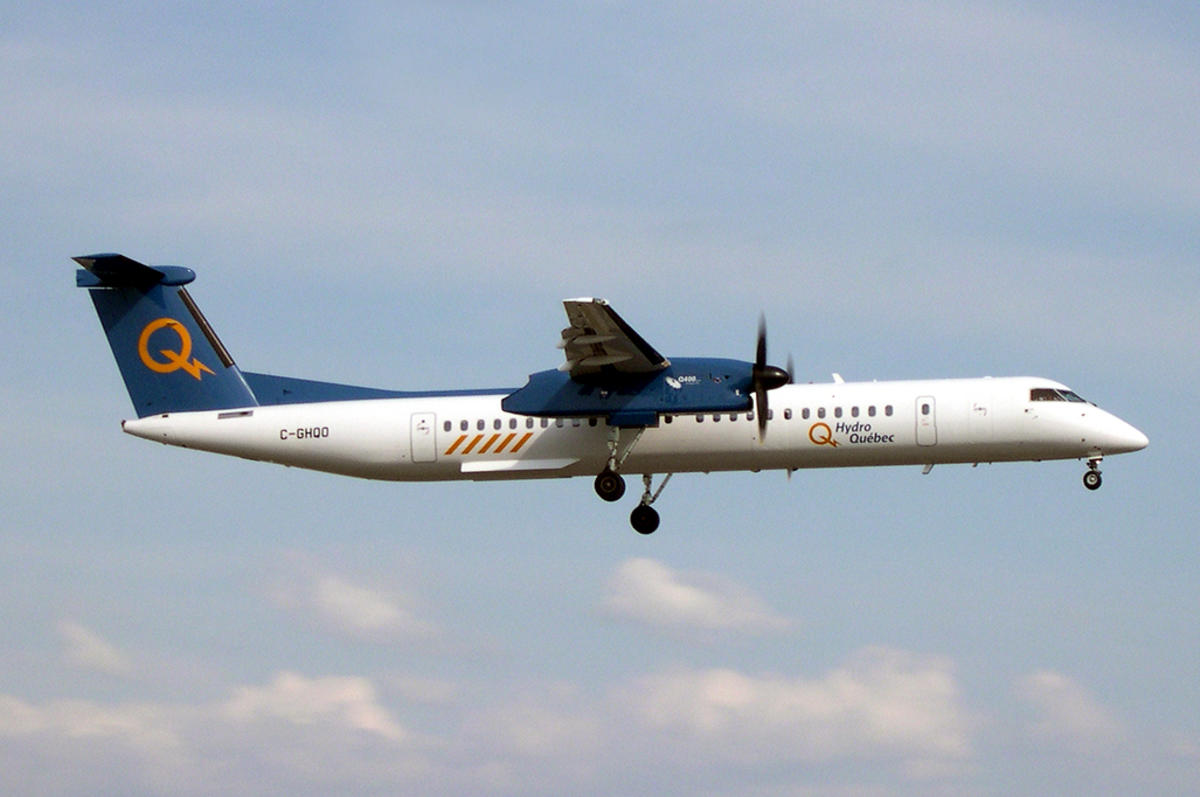 Hydro Quebec Q400 by Caribb via Flickr Creative Commons
