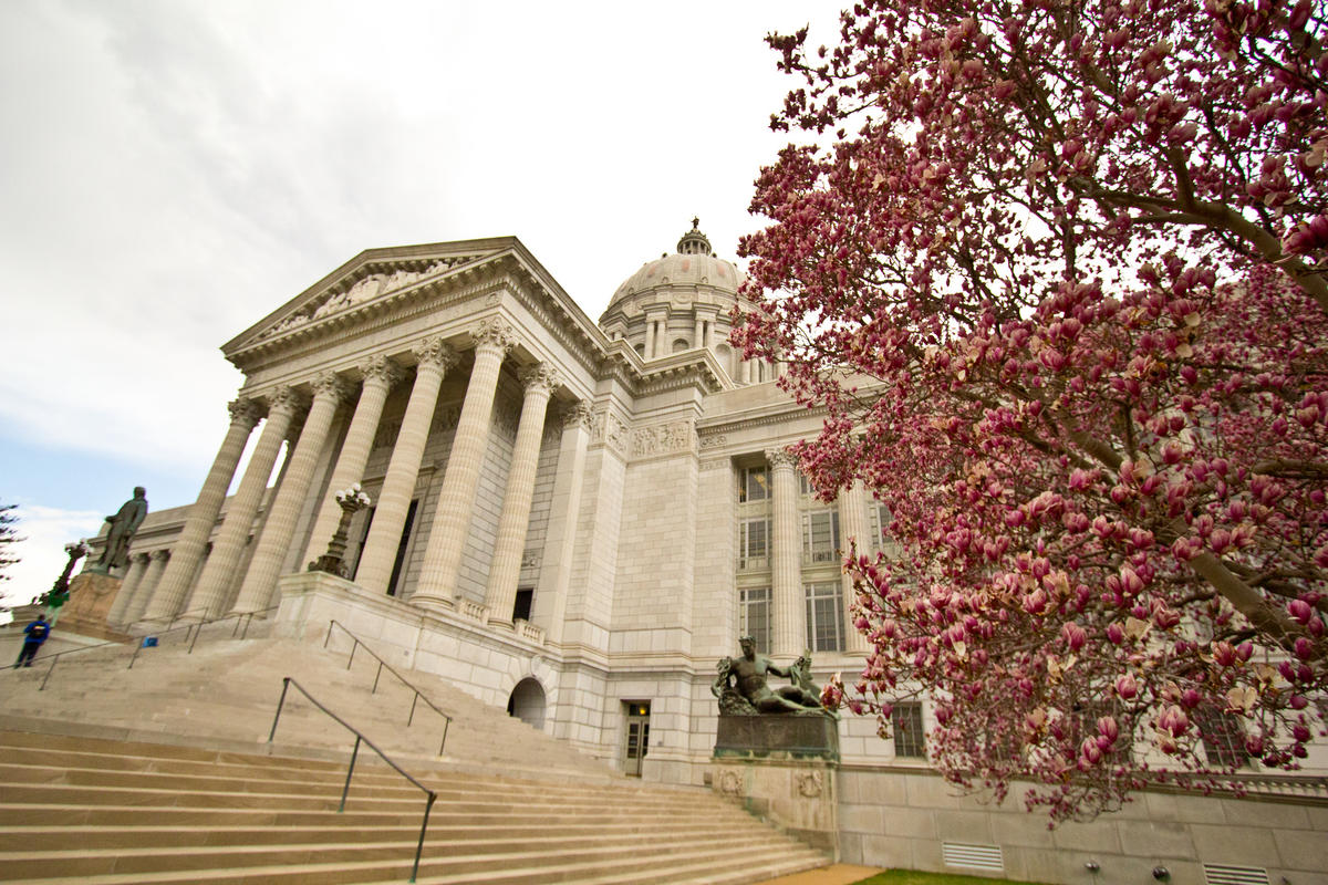 """Missouri State Capitol, Jefferson City"" by Missouri Division of Tourism via Flickr Creative Commons"