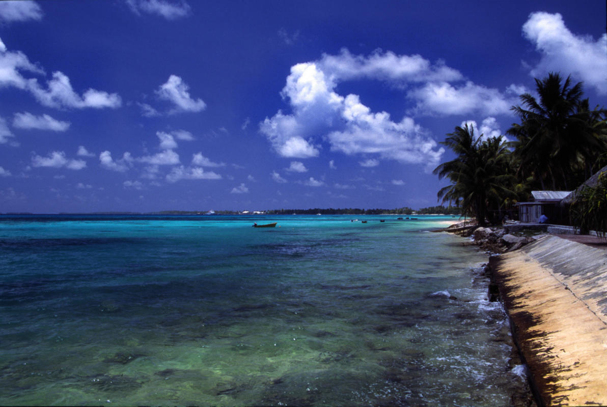 """Tuvalu - Funafuti - Beach #2"" by Stefan Lins via Flickr Creative Commons"
