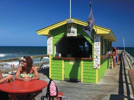 Ocean grill tiki bar