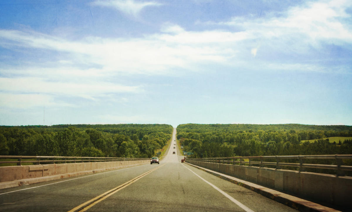 the road goes ever on by Liz via Flickr Creative Commons