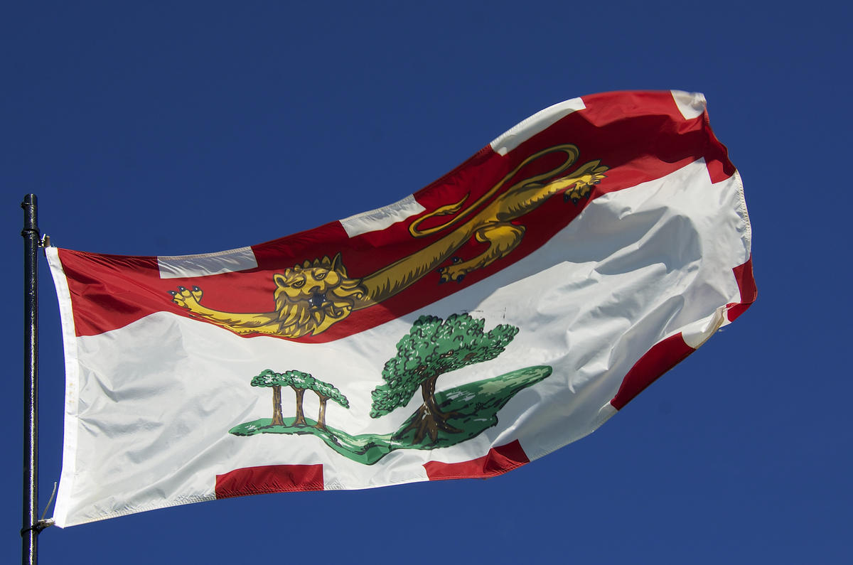 Prince Edward Island Provincial Flag by Jamie McCaffrey via Flickr Creative Commons