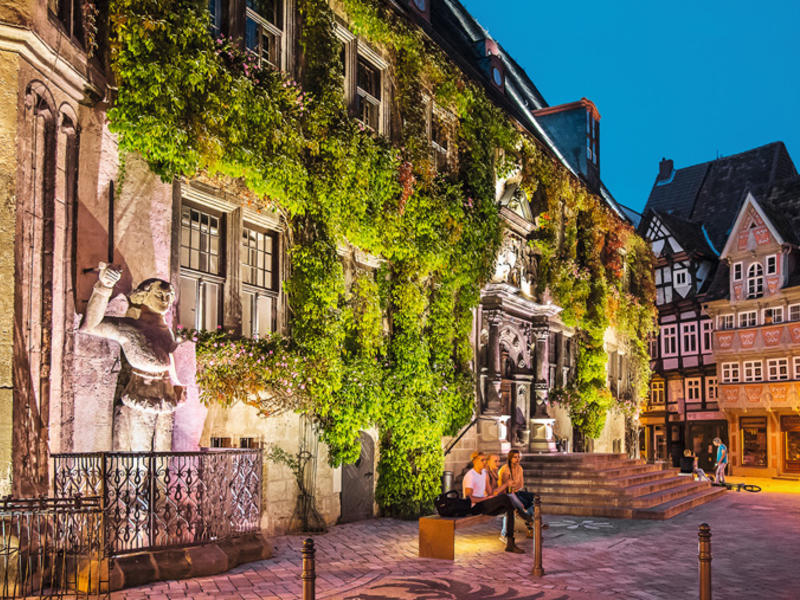 Historic town quedlinburg 3