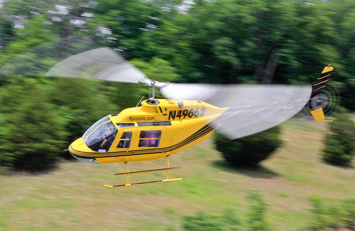 Photo via Scenic Helicopter Tours Facebook Page