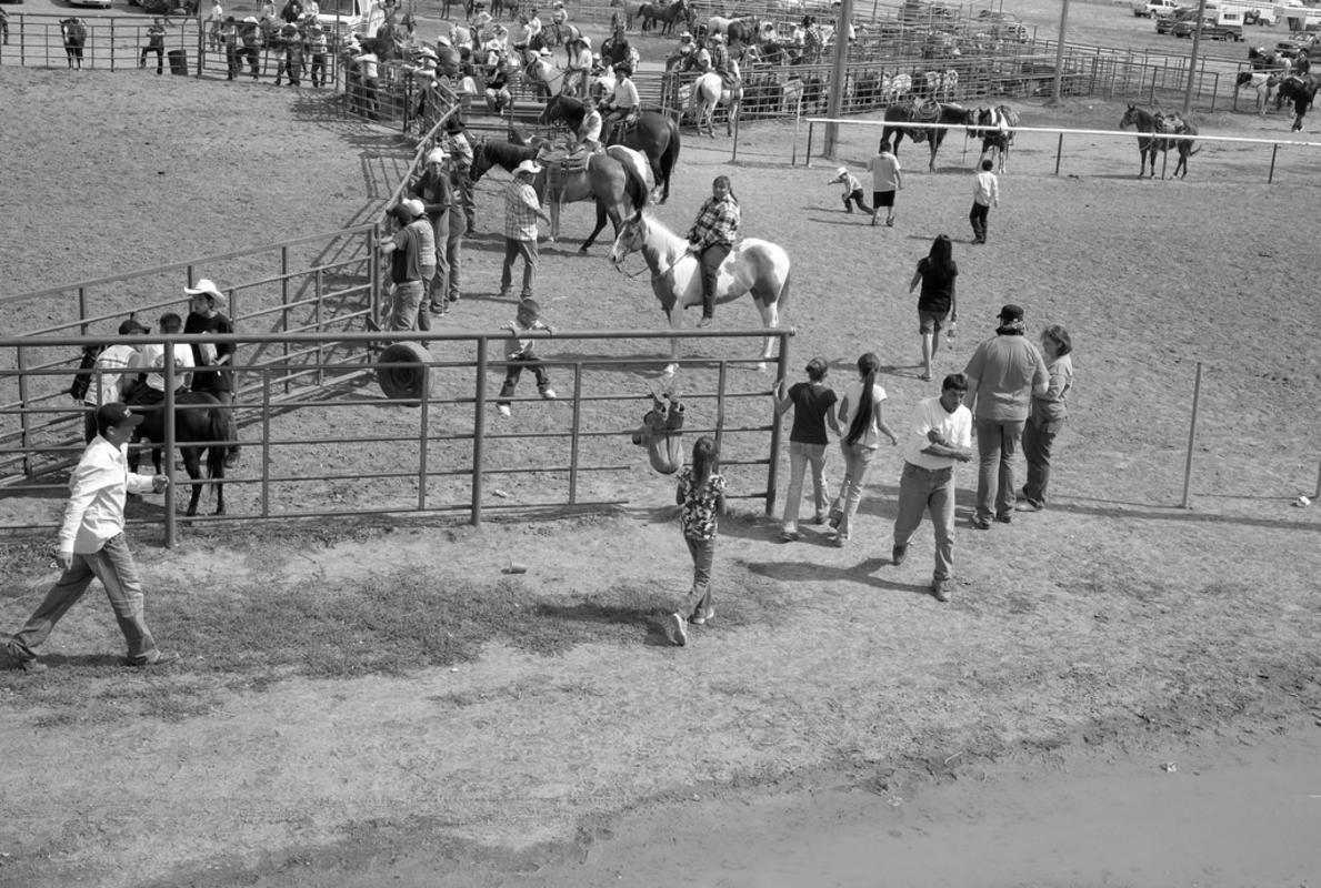 """L1073813 rodeo ""crow fair"" by Susan Sermoneta via Flickr Creative Commons"