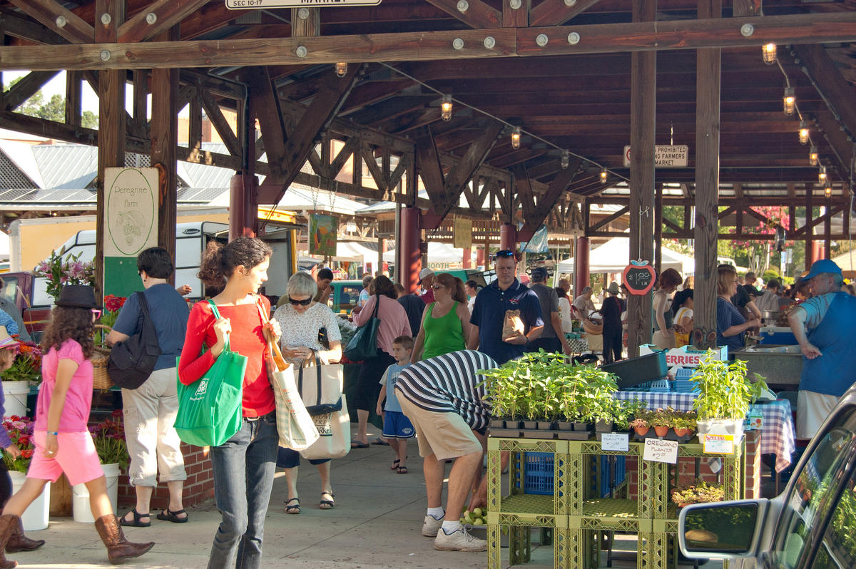 """Carrboro NC Farmers' Market"" by Tom via Flickr Creative Commons"