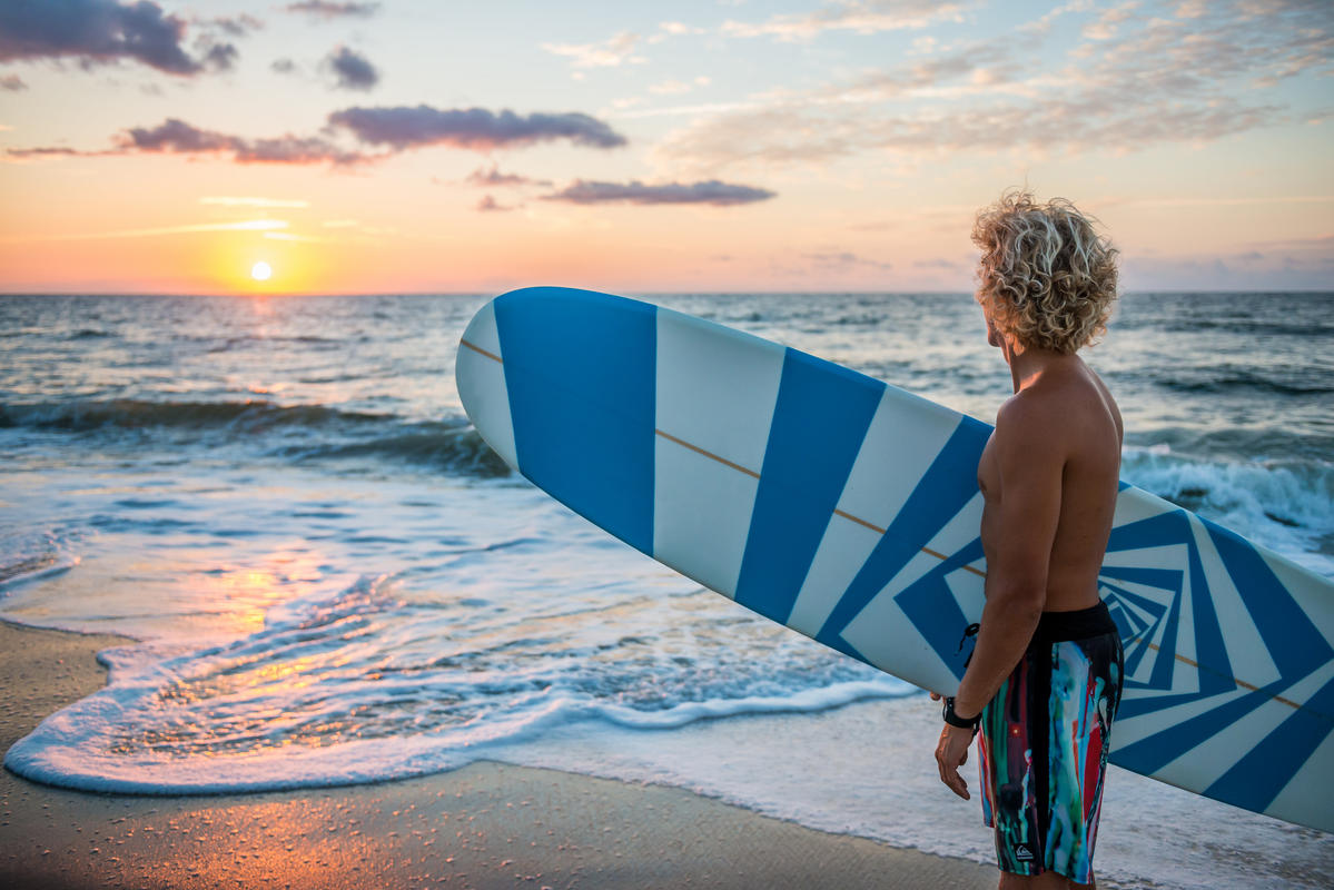 Professional Surfer Tony Silvagni by Wilmington and Beaches Convention & Visitors Bureau