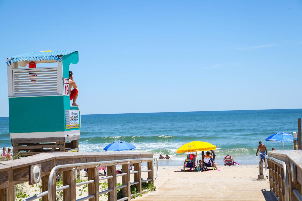 Carolina Beach by Wilmington and Beaches Convention & Visitors Bureau