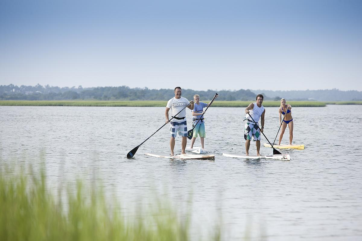 Wrightsville Beach SUP by Wilmington and Beaches Convention & Visitors Bureau