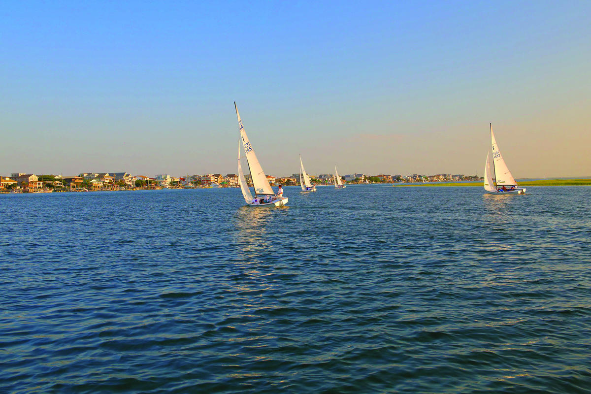 Wrightsville Beach Sailing by Wilmington and Beaches Convention & Visitors Bureau