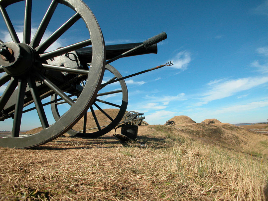 Fort Fisher State Historic Site Photo by Wilmington and Beaches Convention & Visitors Bureau
