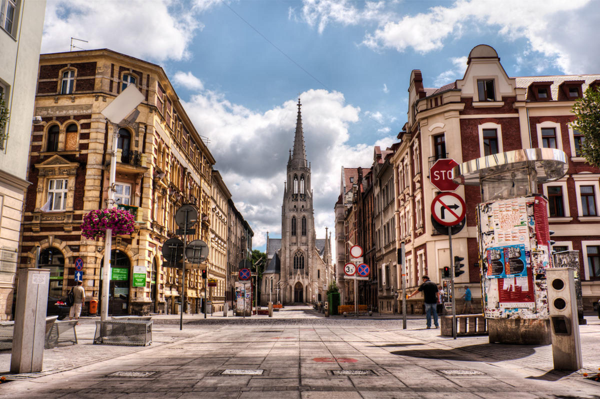Katowice, Poland by Bobby Bradley via Flickr Creative Commons