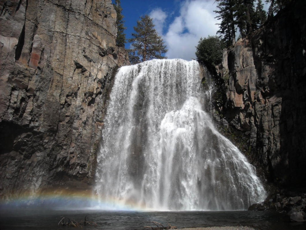 Rainbow Falls Photo by US Department of Interior via Flickr Creative Commons