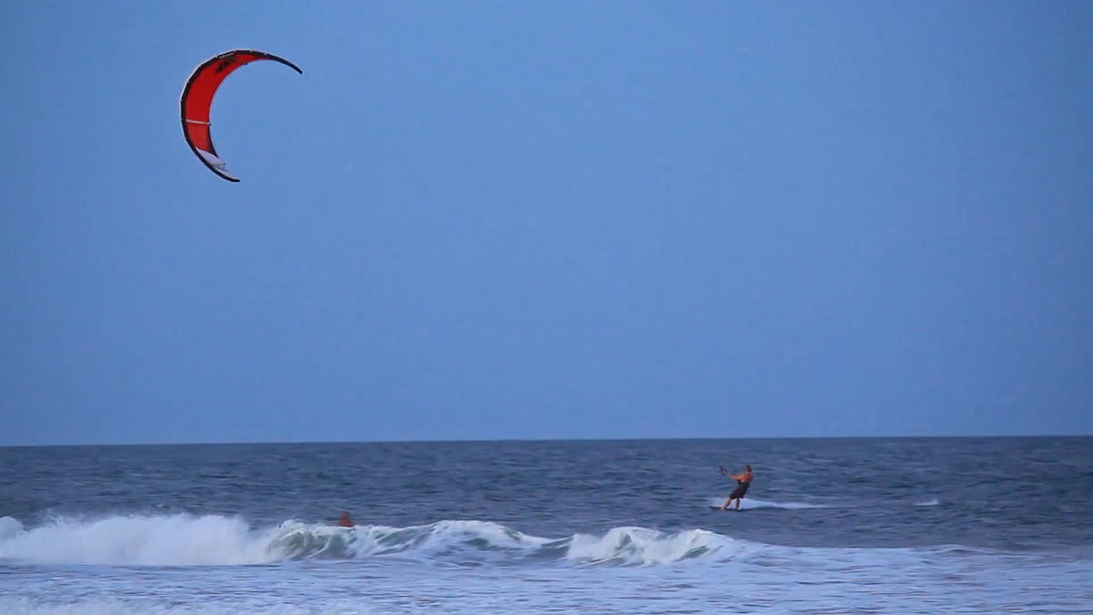 Kitesurfing Photo by Wilmington and Beaches Convention & Visitors Bureau