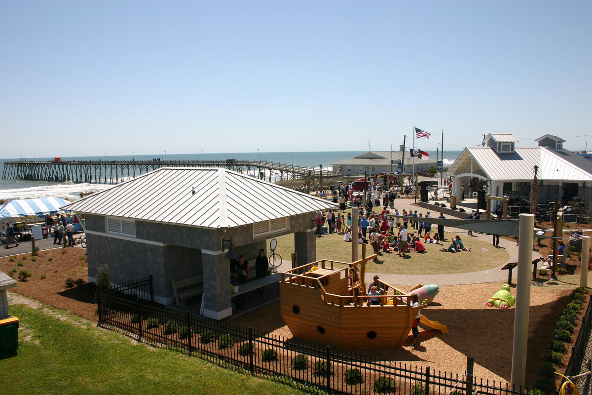 Kure Beach Ocean Front Park Photo by Wilmington and Beaches Convention & Visitors Bureau