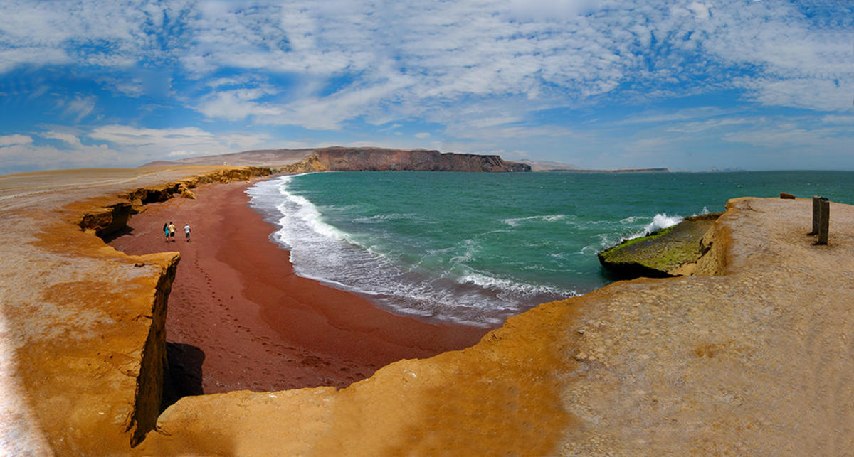 Playa Roja, Reserva Nacional de Paracas, Peru by Martin Garcia via Flickr Creative Commons