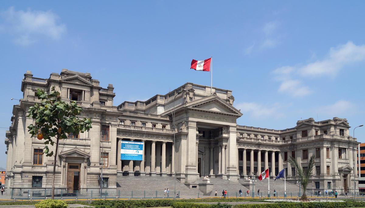 Palacio de Justicia. Lima, Perú. by Art DiNo via Flickr Creative Commons