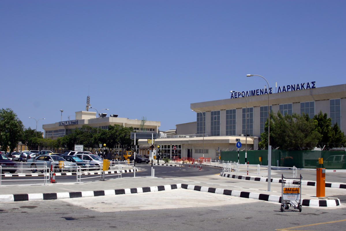 Larnaca Airport Terminal Photo by Christopher Rose via Flickr Creative Commons