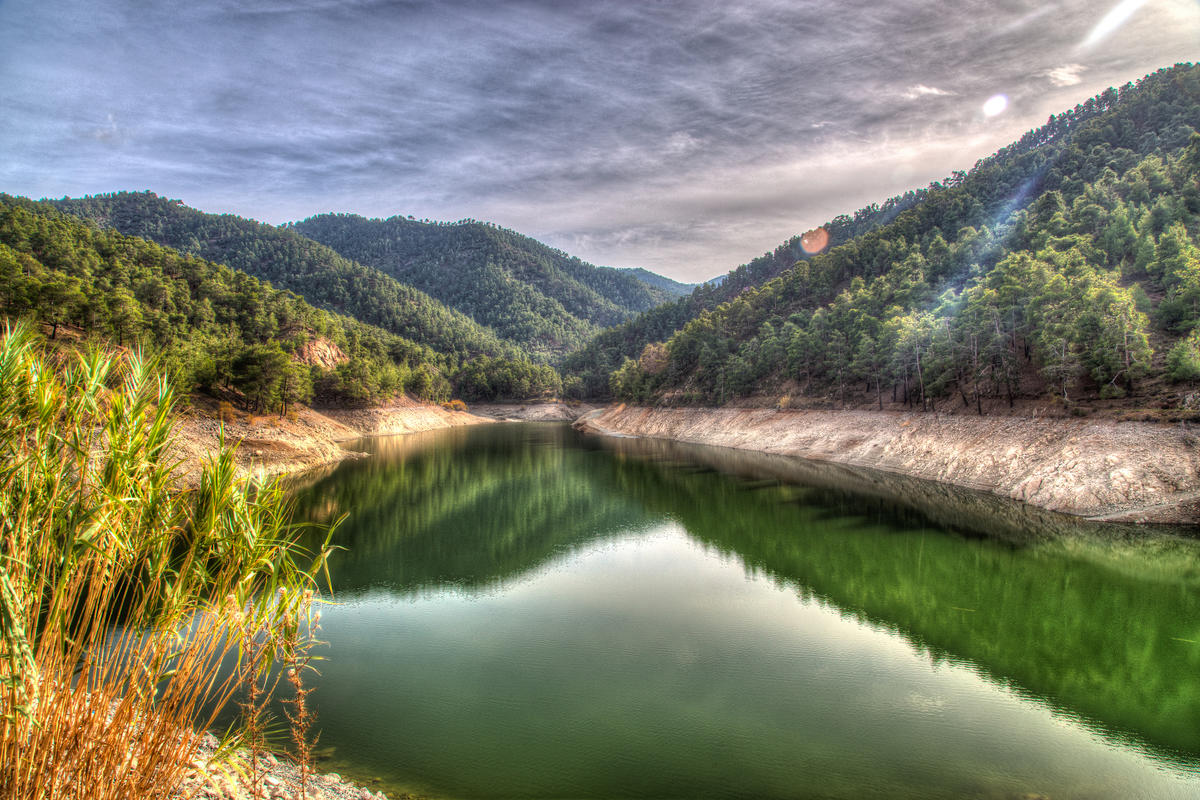Agia Marina - Xyliatou Reservoir Photo by Lefteris Katsouromallis via Flickr Creative Commons